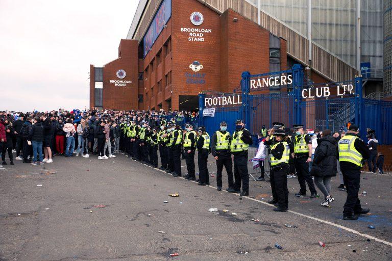 Police Scotland make Rangers decision