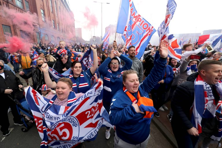 The birth of Ibrox Noise and the Journey to 55