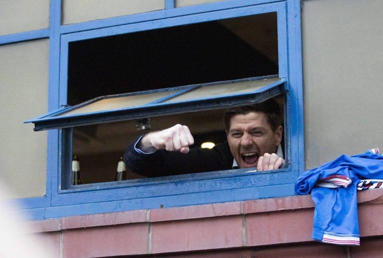 Stevie G makes the announcement Rangers fans wanted to hear