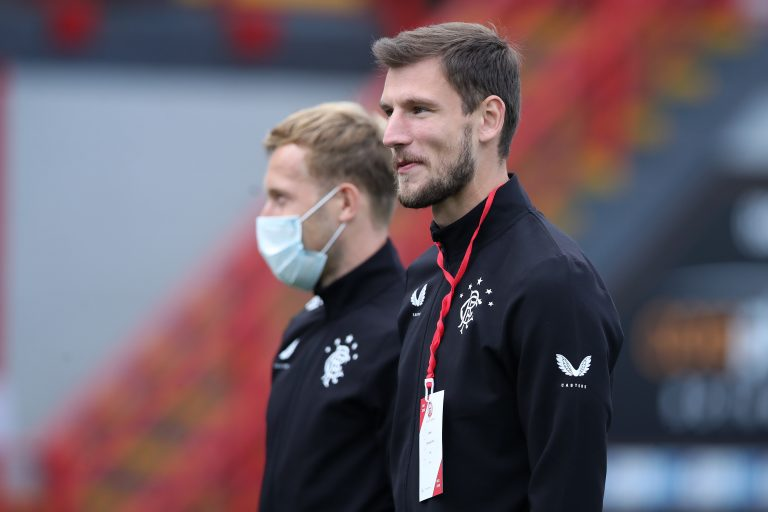 Borna Barisic gives update on his plans for leaving Rangers